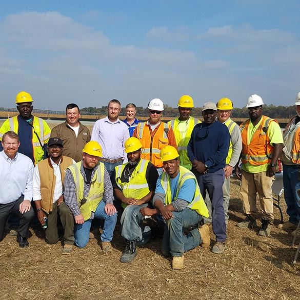 New Greensboro WWTP project